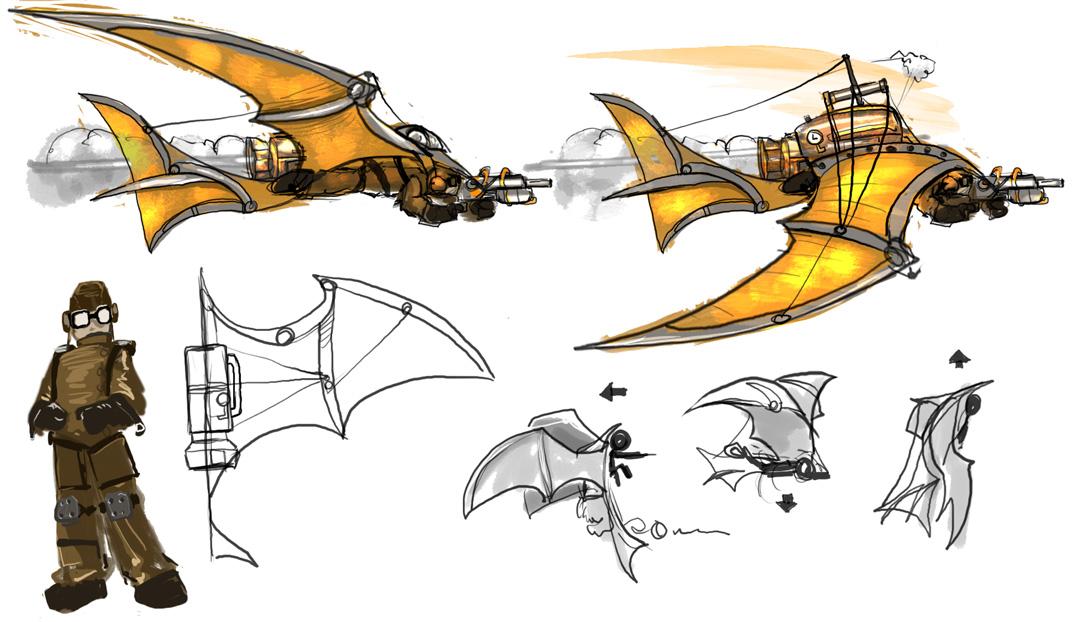 [Shump] Steampunk concepts