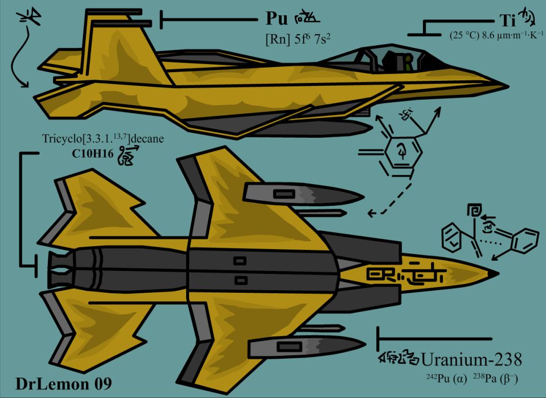 F-22 Lemon Raptor