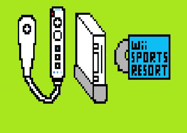 Pixel Nintendo Wii