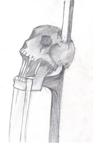 Skull On A Pole