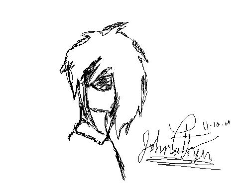 Emo in Paint