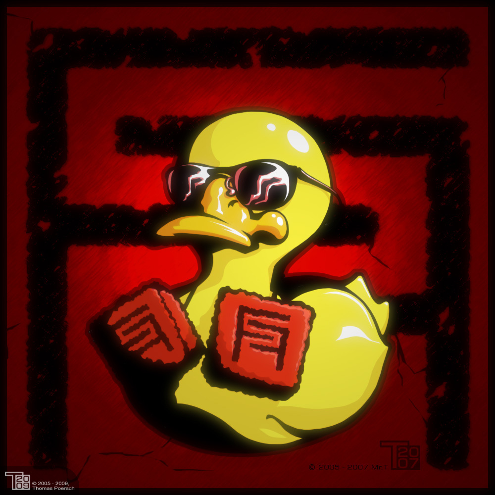 Duck with Dices