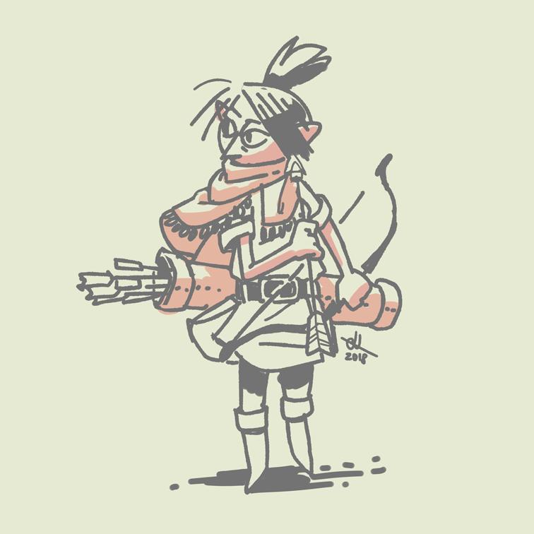 Style Test - Archer