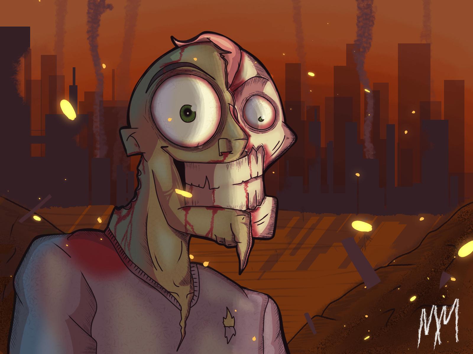 happy zombbi