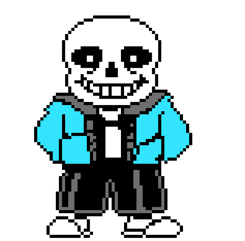 Colored Sans By M Isaacs On Newgrounds