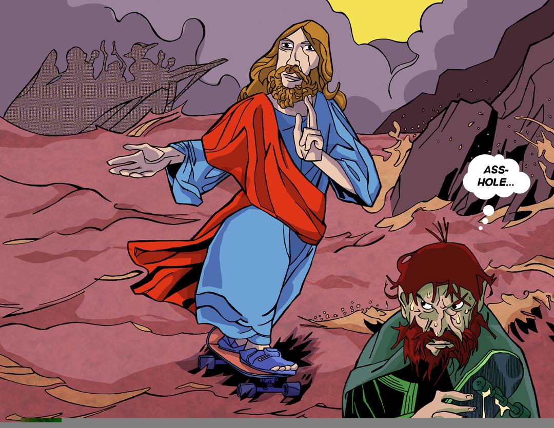 Judas begins