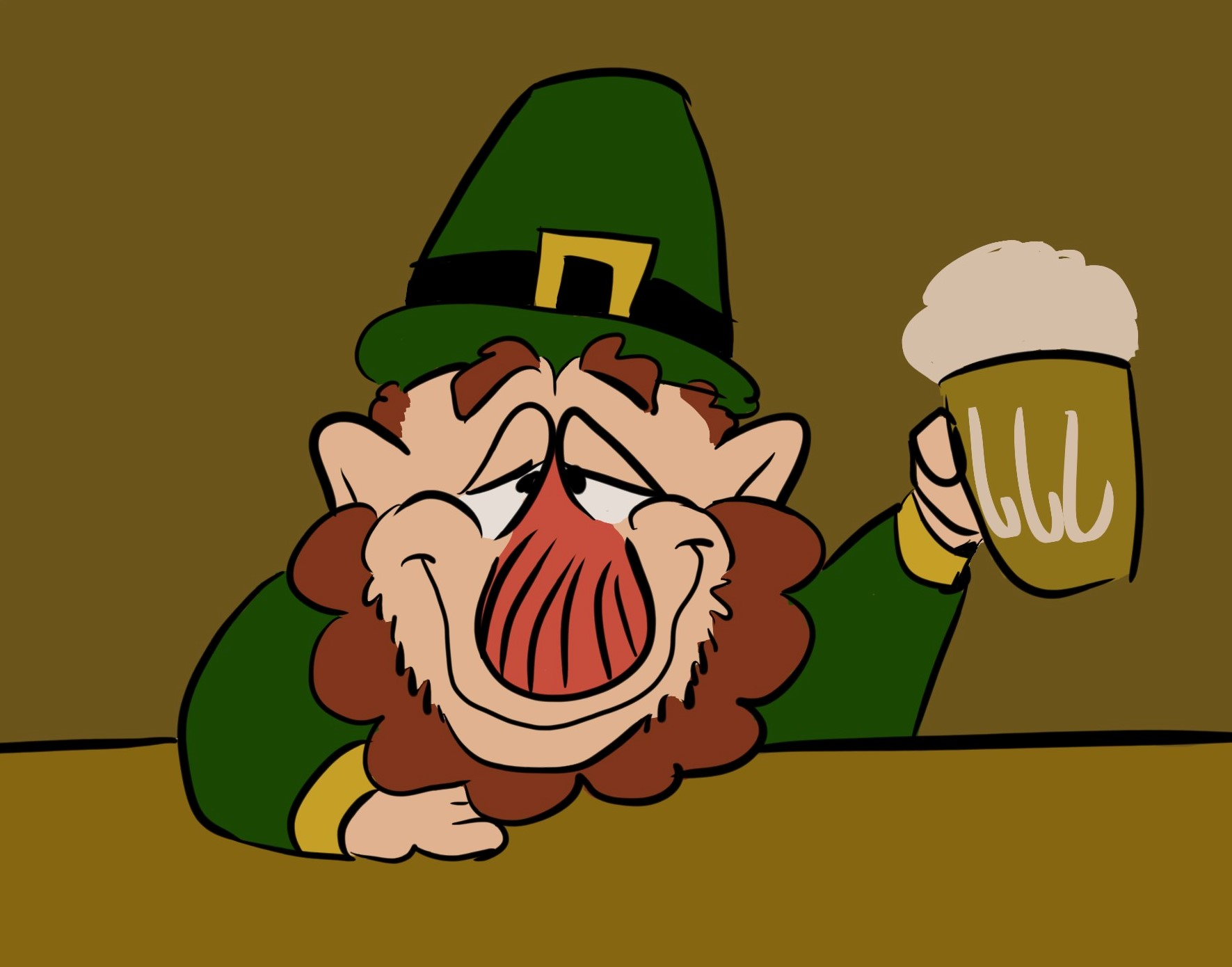 St. Patrick's Day Drawing 2018