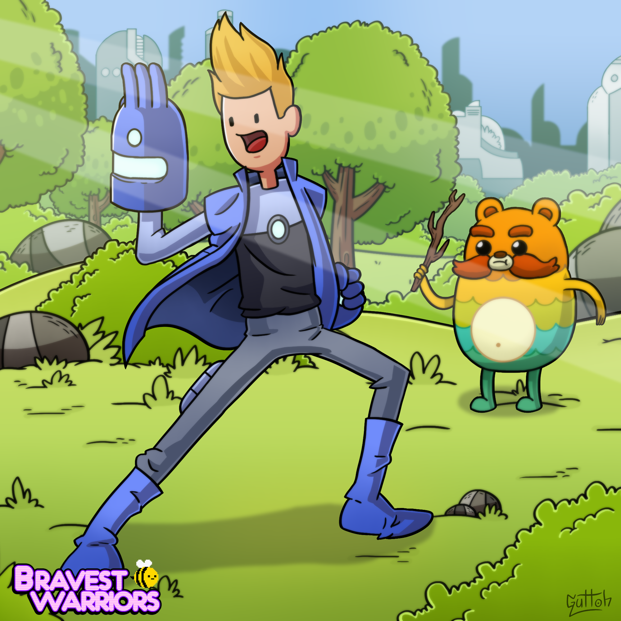 Bravest Warriors Chris