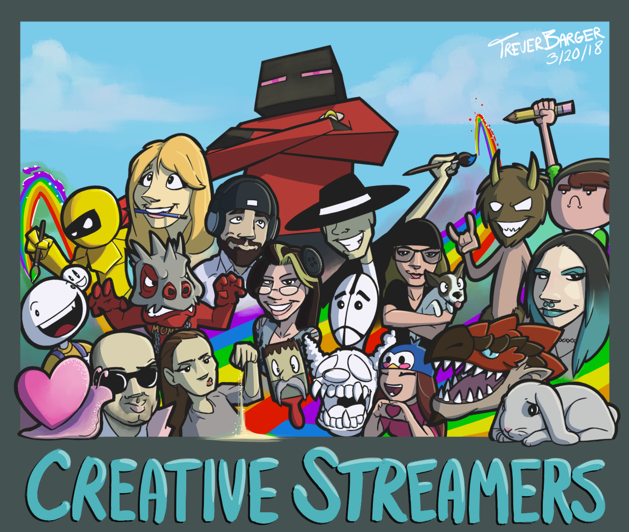 Twitch Creative Streamers