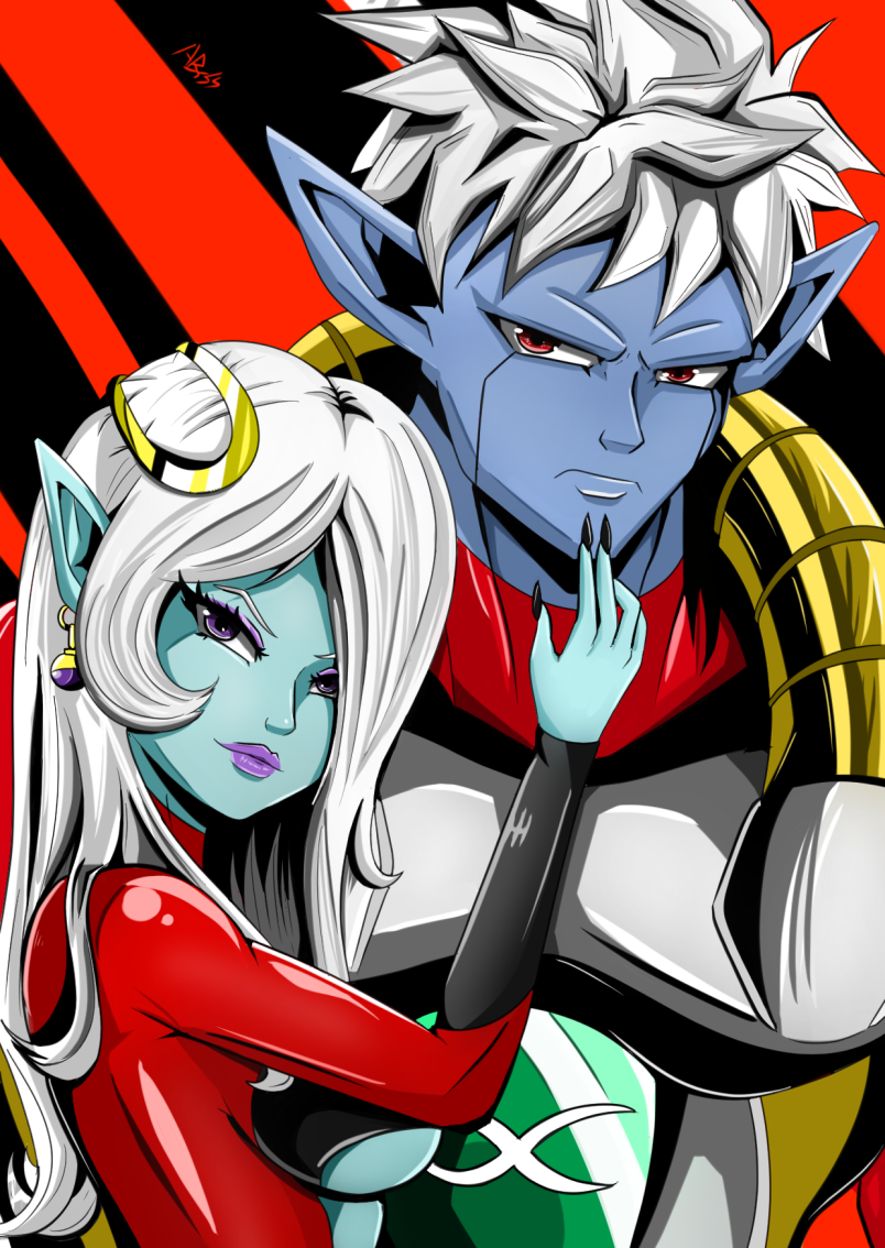 Perks At Work >> Towa and Mira by Old-Abysswalker on Newgrounds