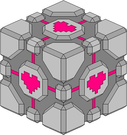Isometric Companion Cube