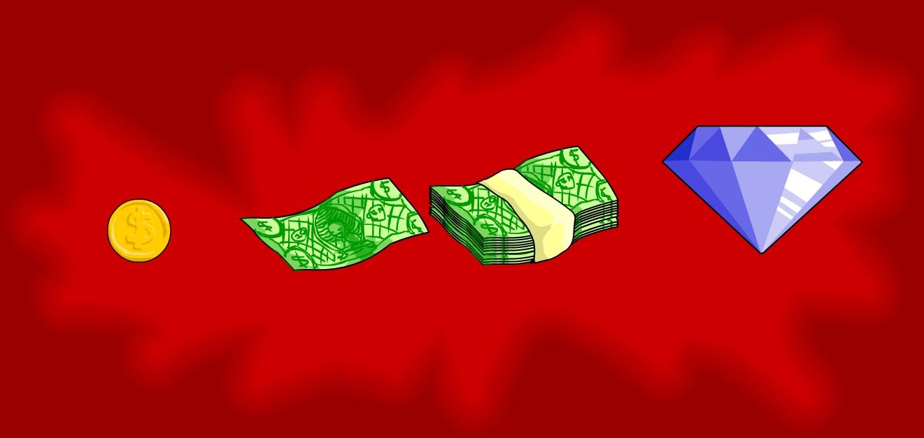 Money Drop Sprites