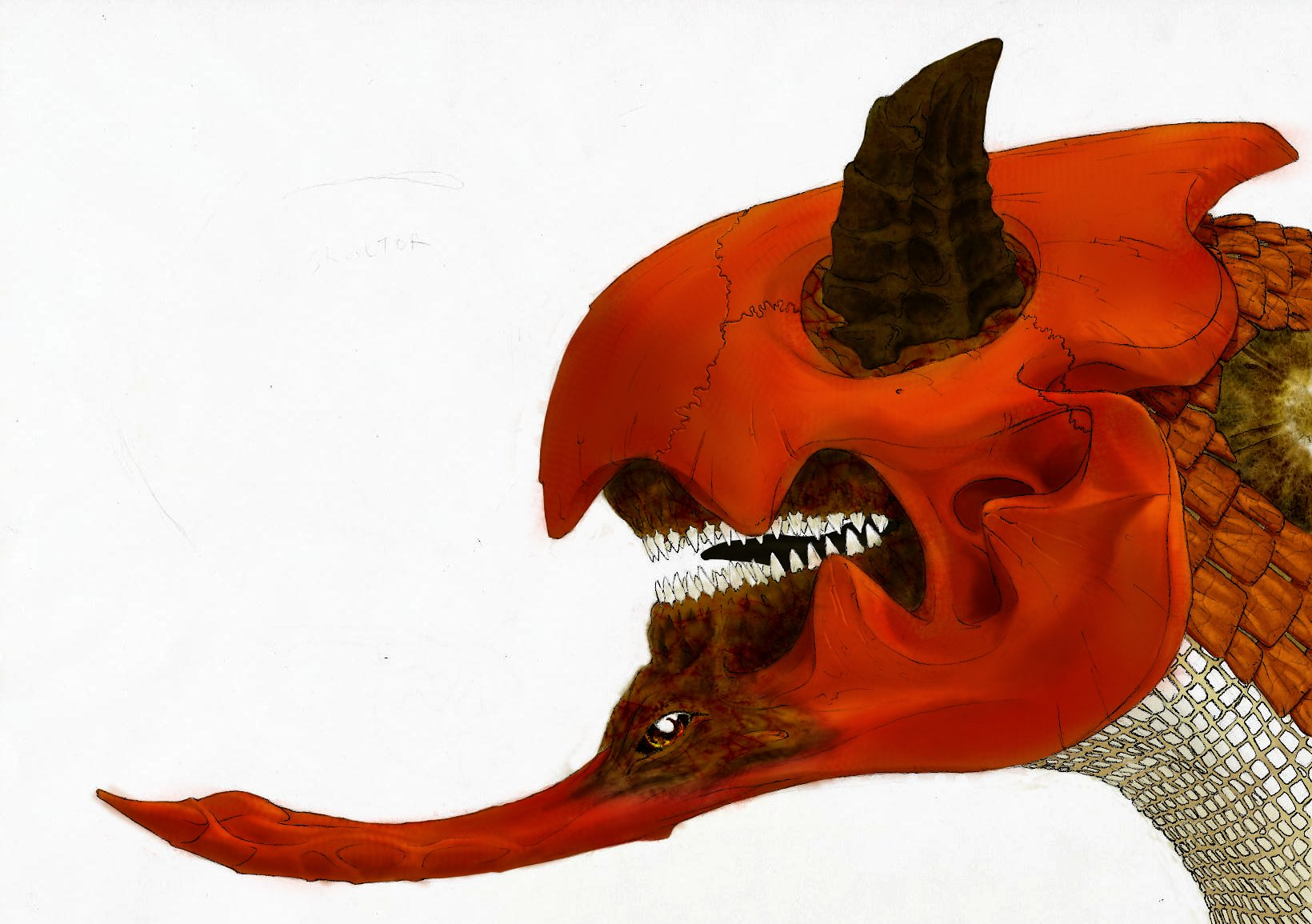 Blood Skull Dragon