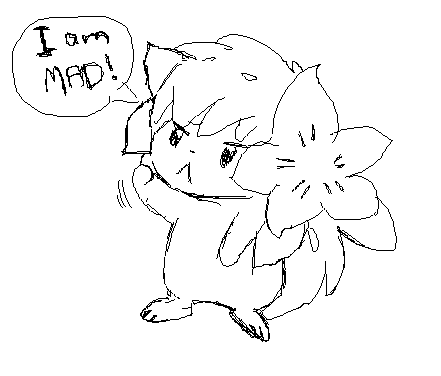 angry shaymin