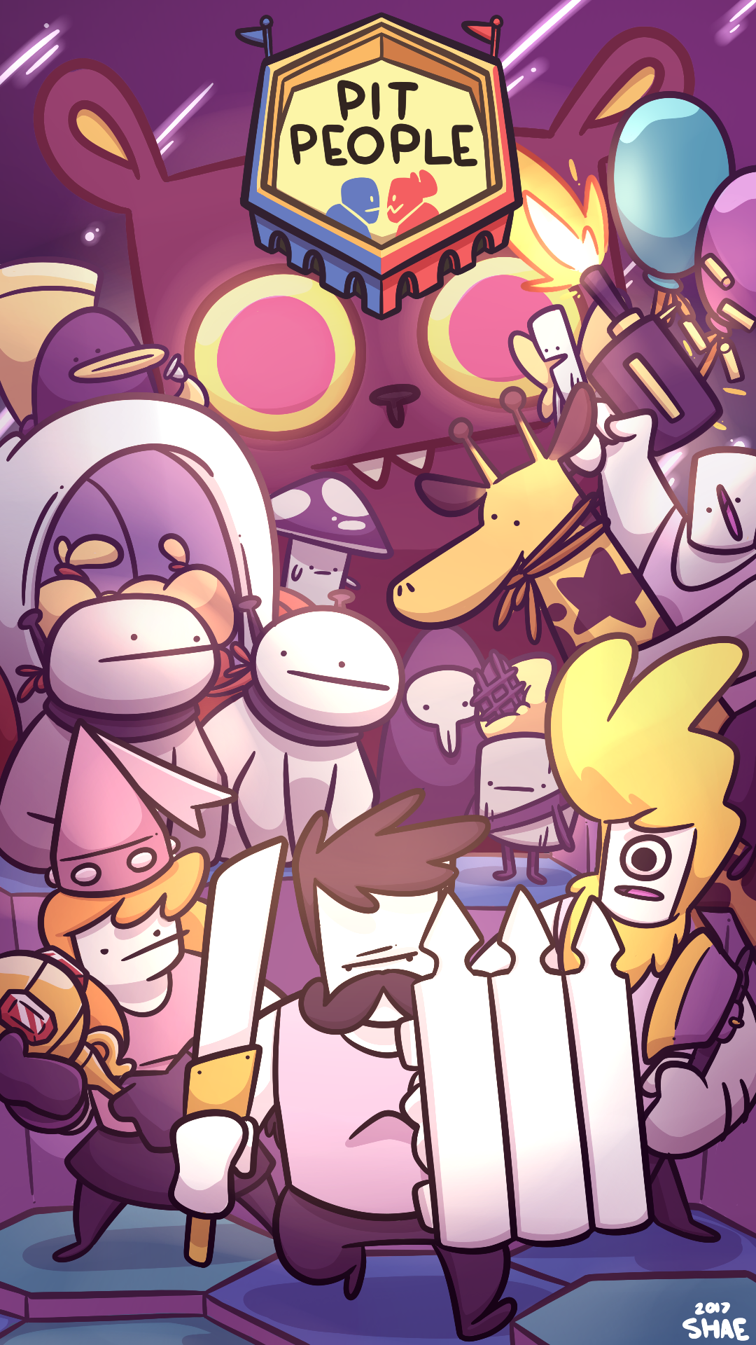 Pit People Art Contest Entry!