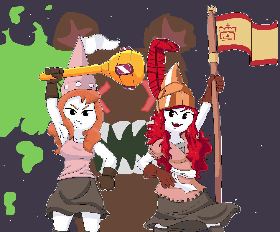 Pipistrella and Sofia