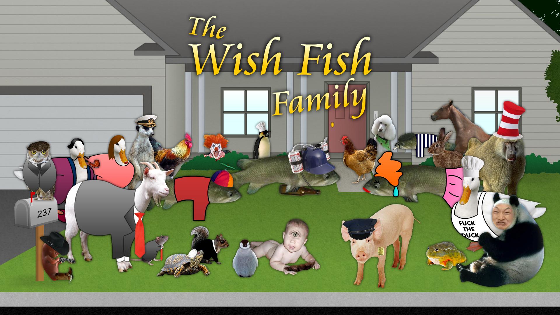 The Wish Fish Family