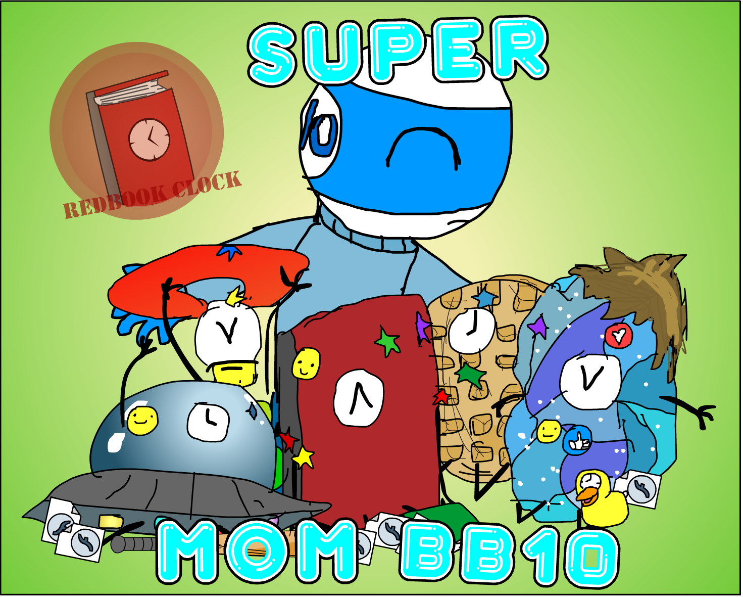 Super Mom BB10