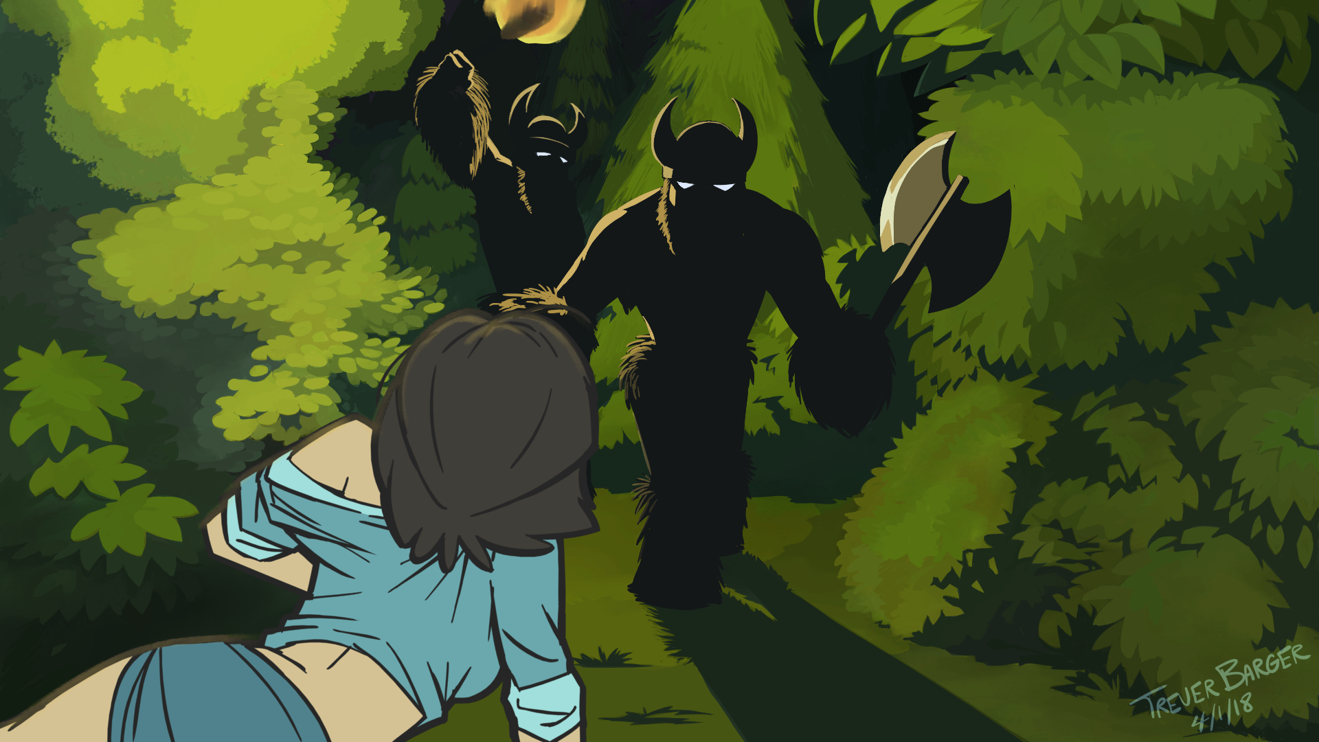 Vikings of the Interstate: Page 03 Plane Crash Part 2