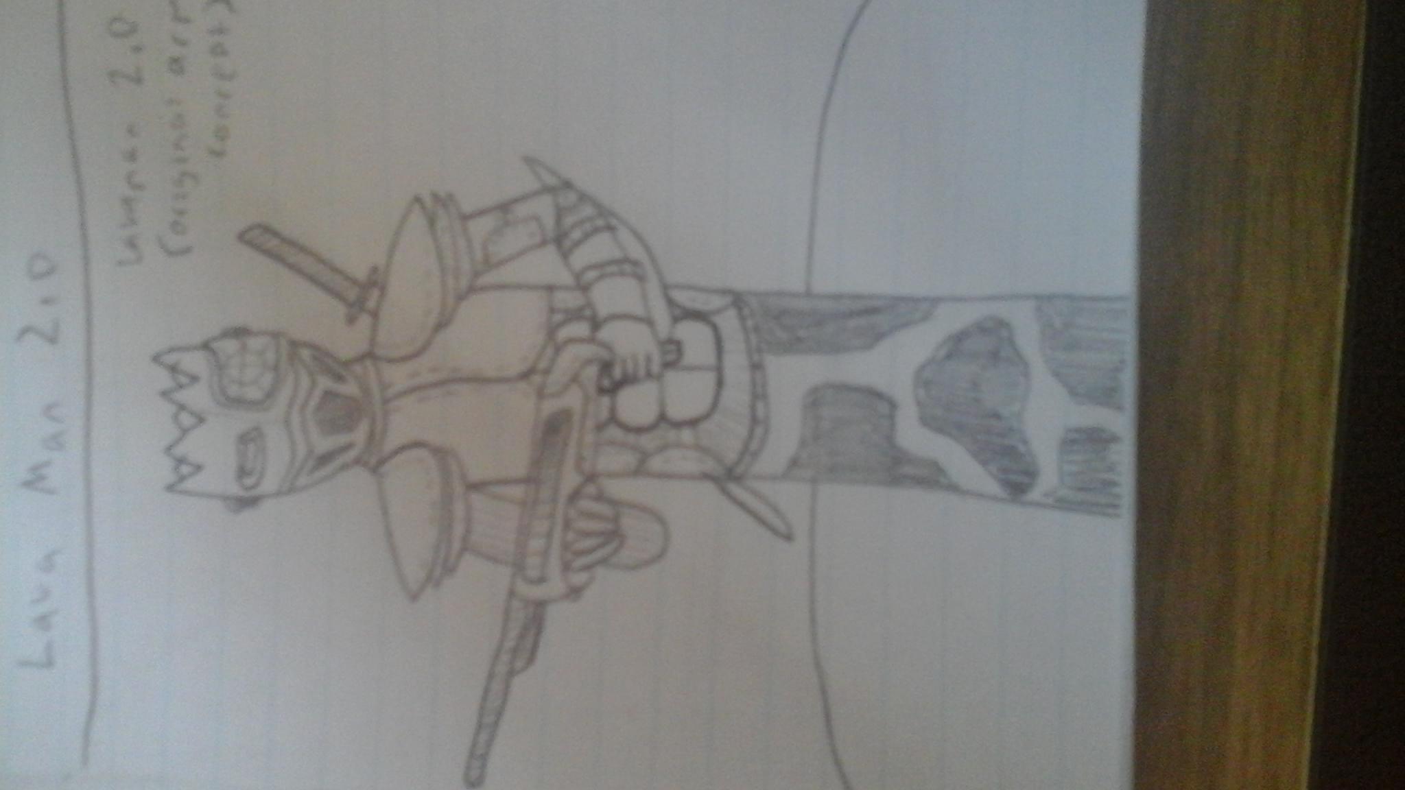 Lava Man Armour Concept