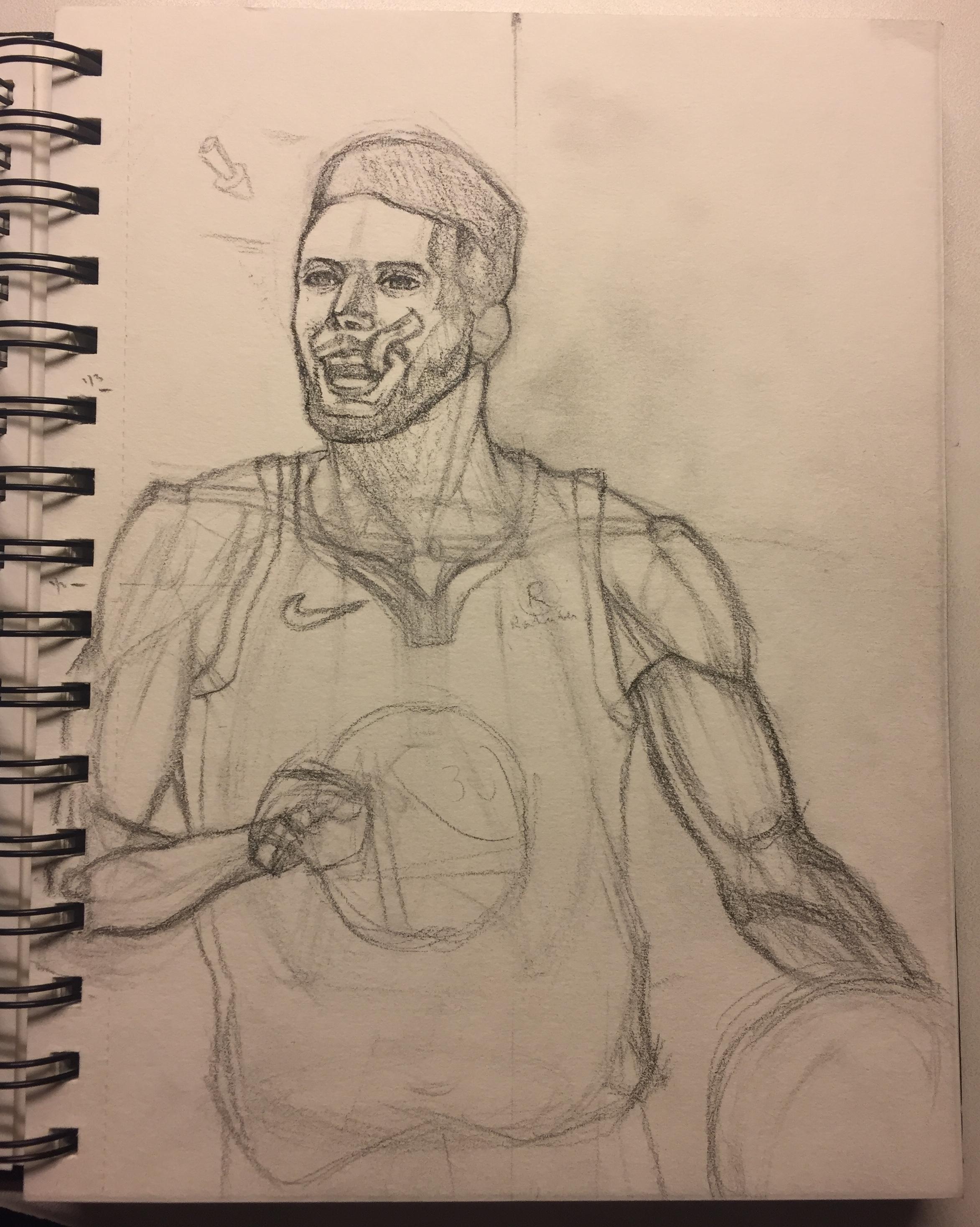I had a lot of fun drawing Steph Curry! I hope you enjoy it! f0c110755