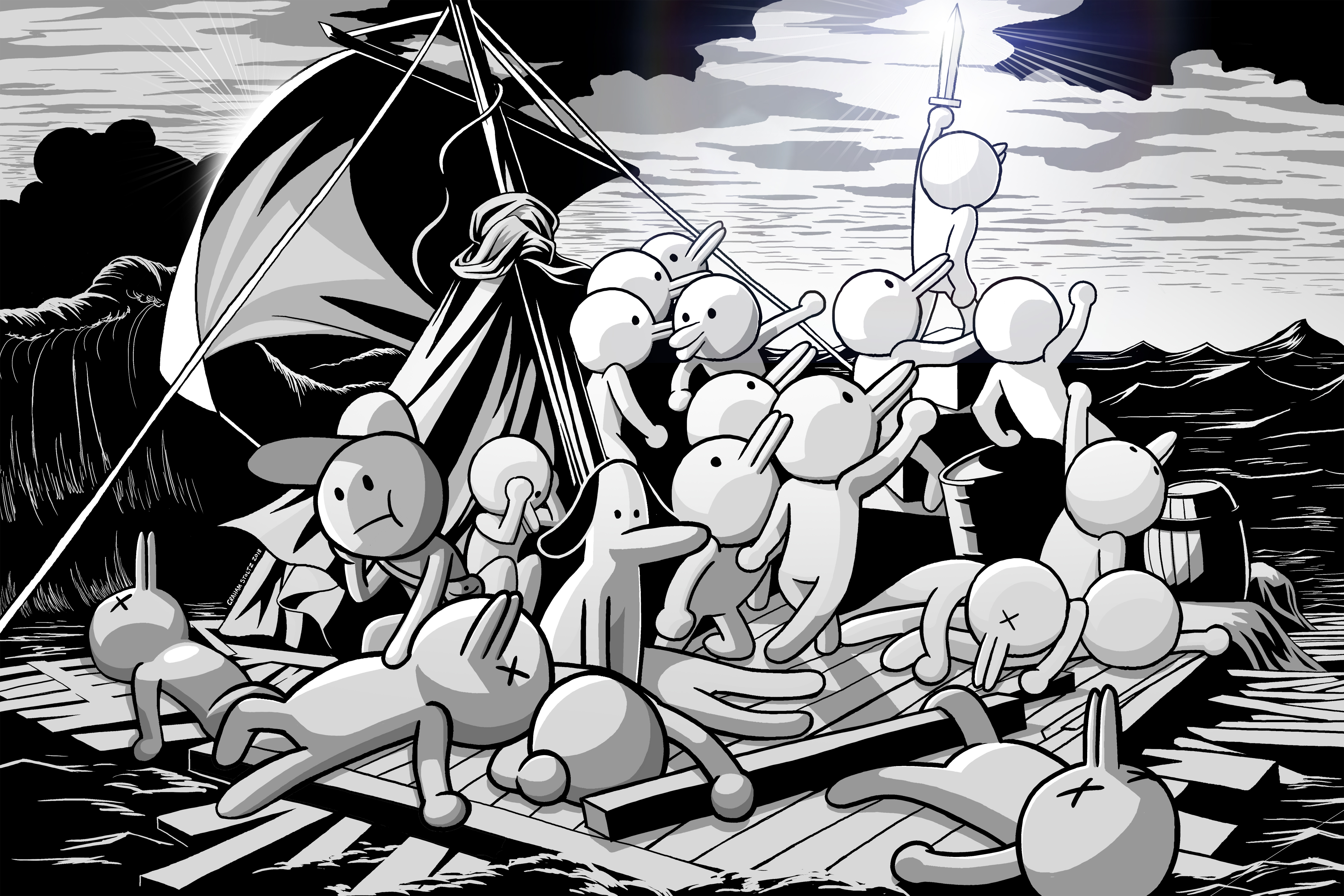 The Raft of the Minit