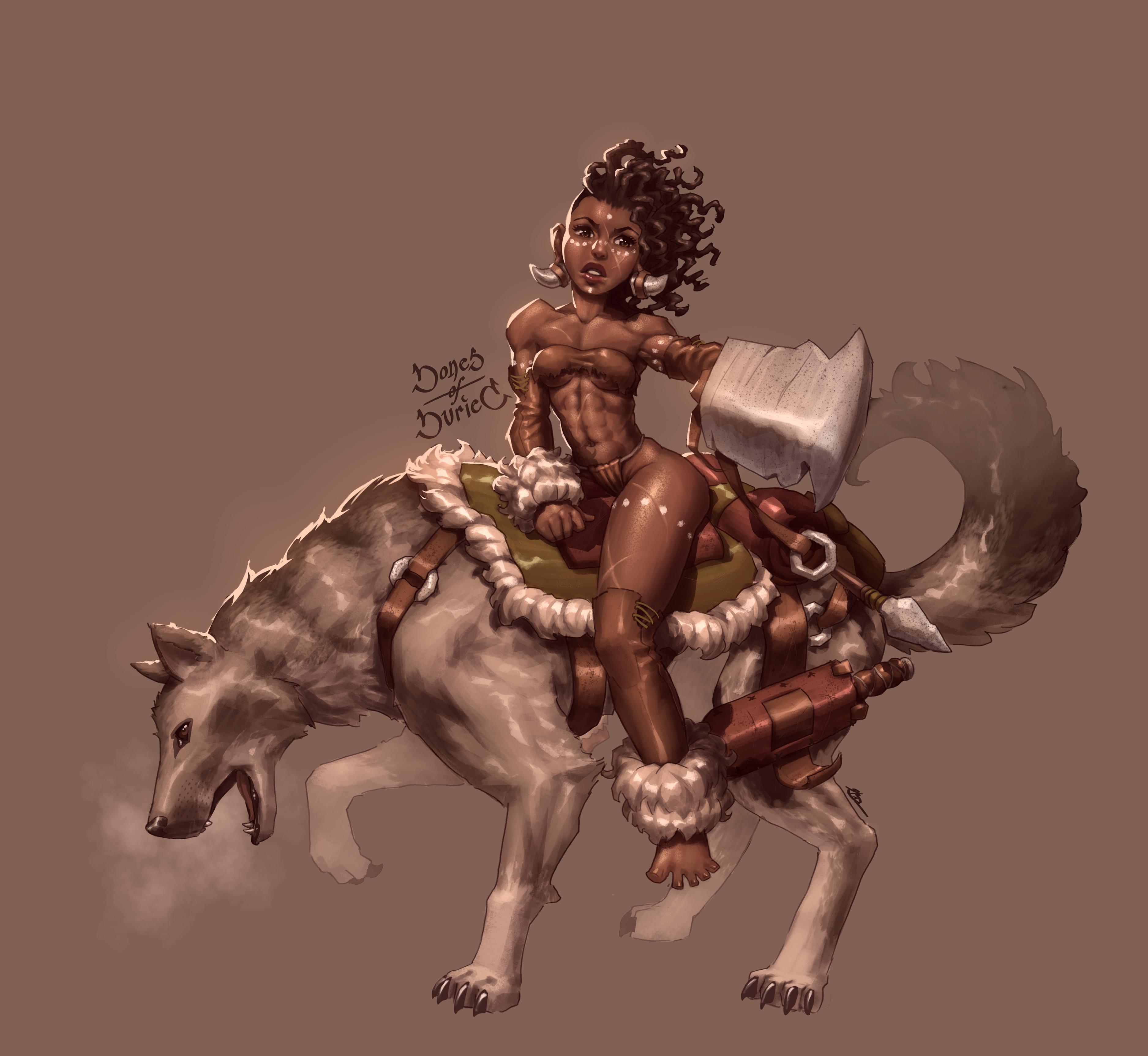 Wolf-back Huntress