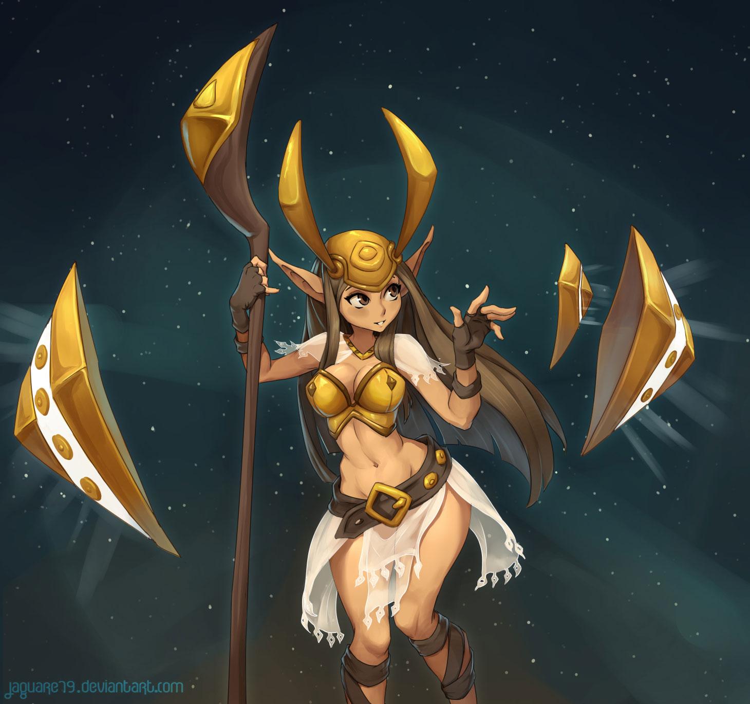 Wakfu goddess feca