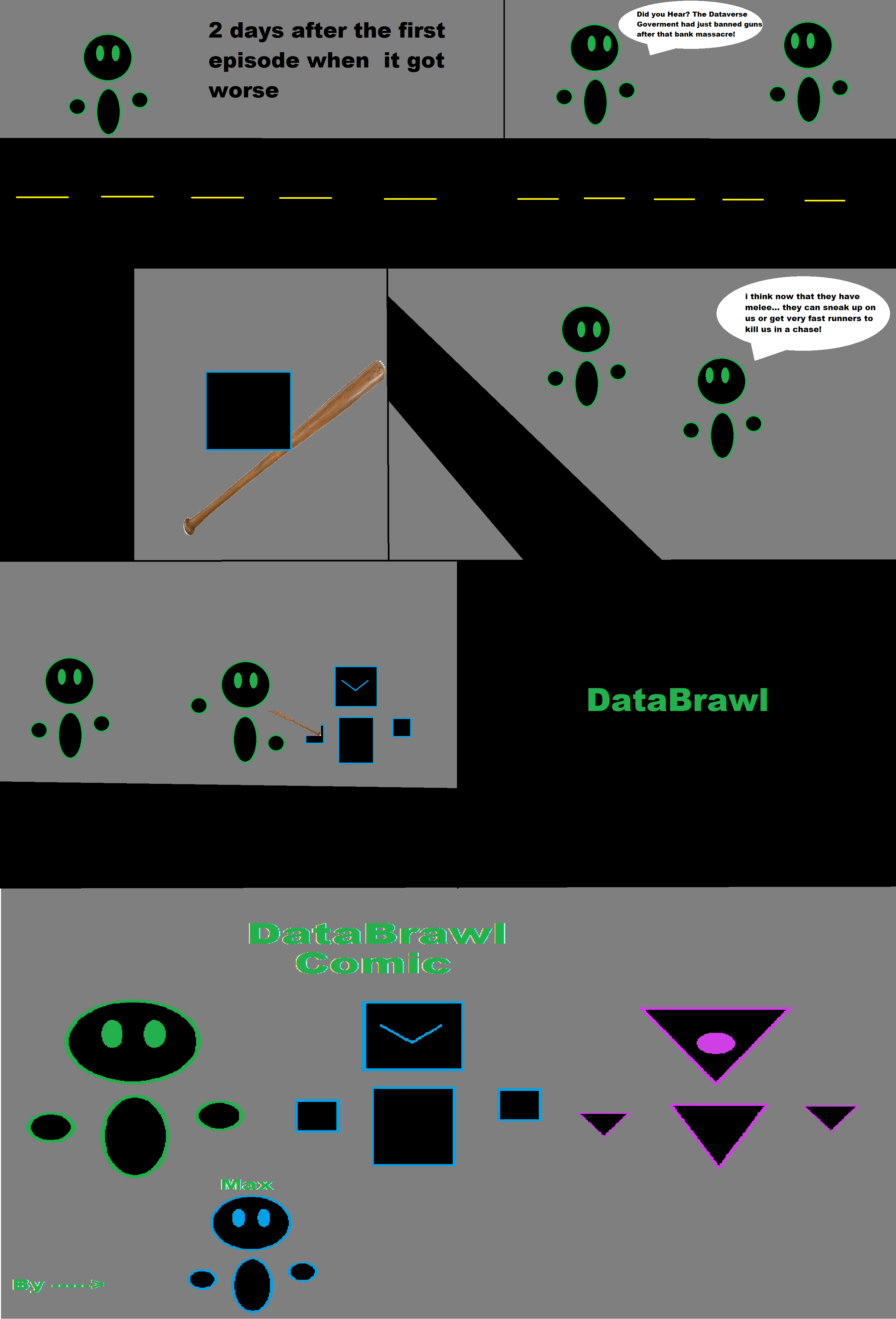 DataBrawl Comic (Series 1, Episode 3) by MaxThePotato on ...