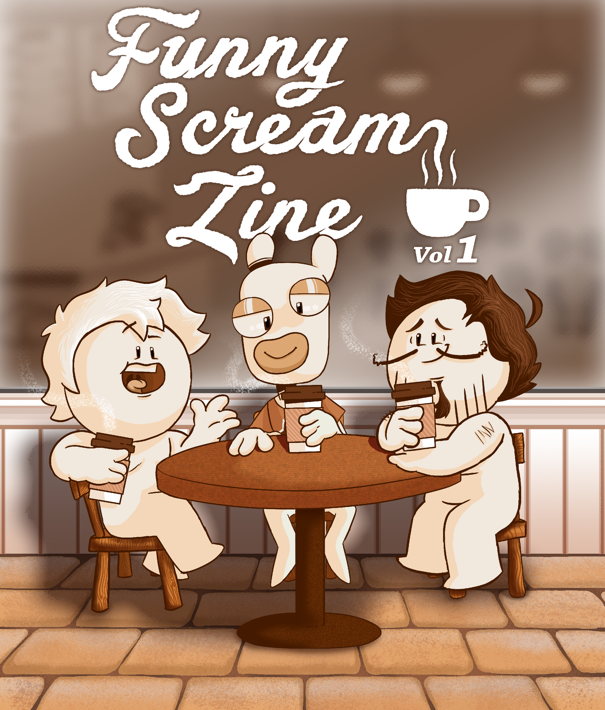 OneyPlays Funny Scream Zine Piece