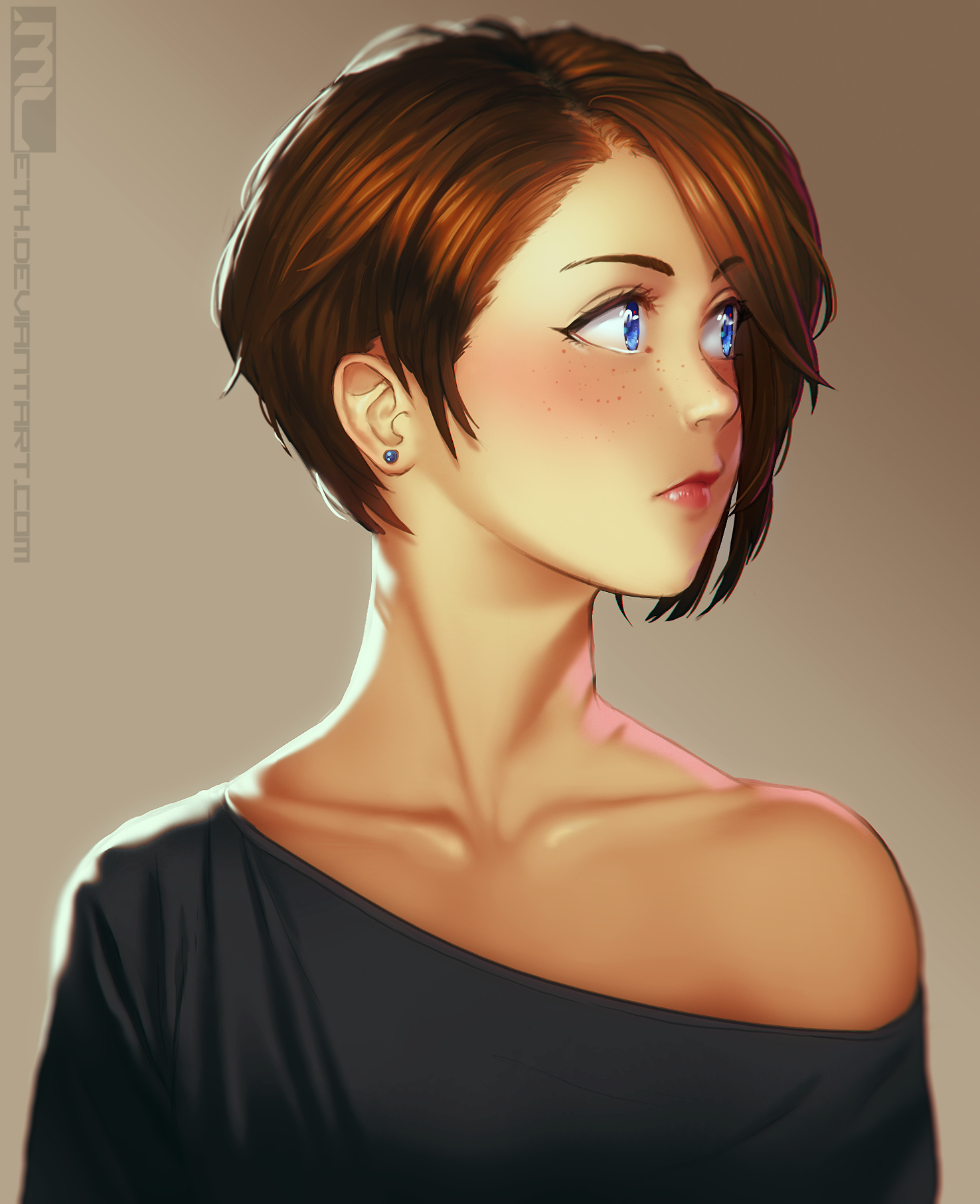 Fancy Brooke Portrait