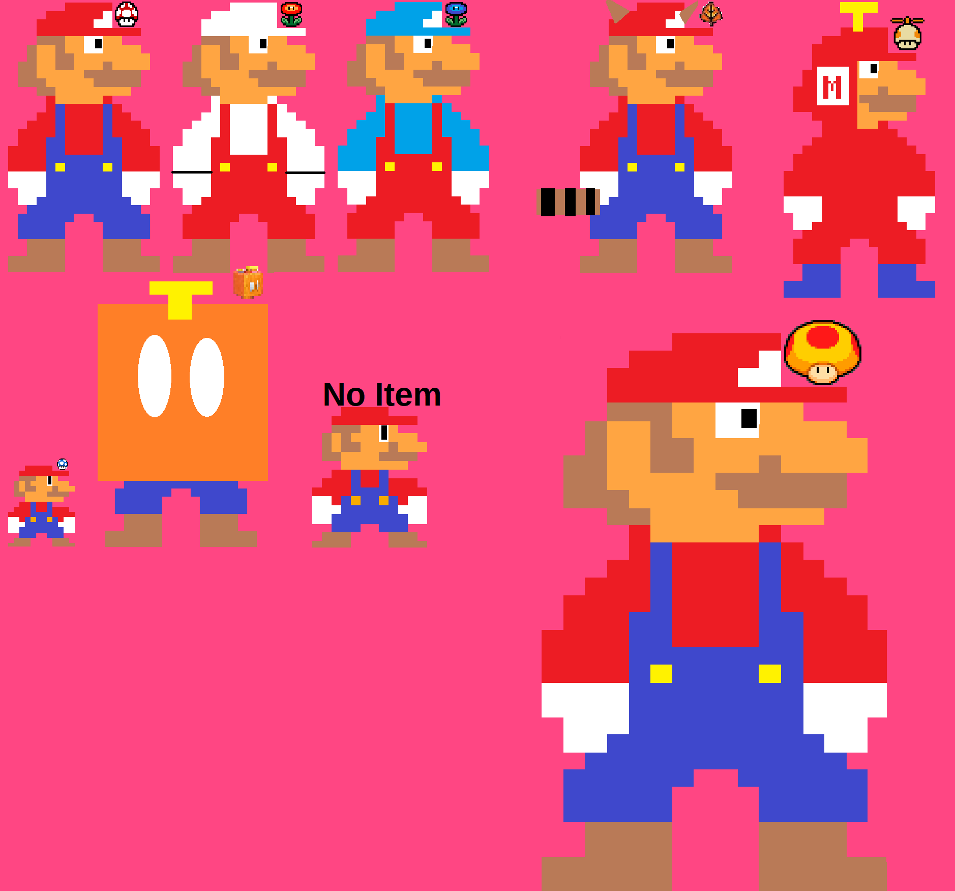 New 8 bit mario power ups by cooldude4342135 on newgrounds - Pictures of 8 bit mario ...