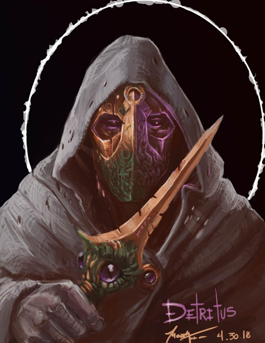 Necromancer Commission (Low Res)