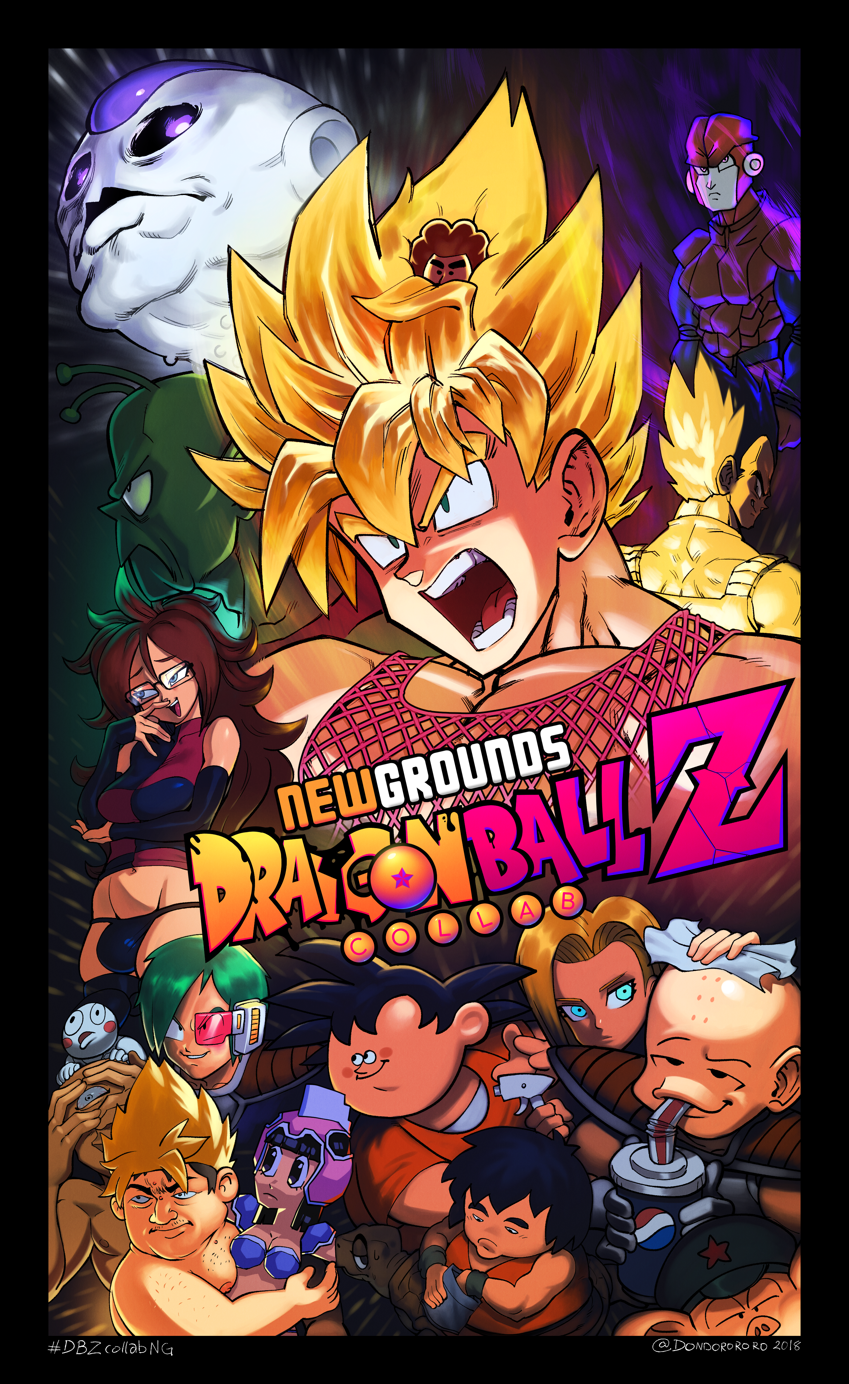 DBZcollab Poster