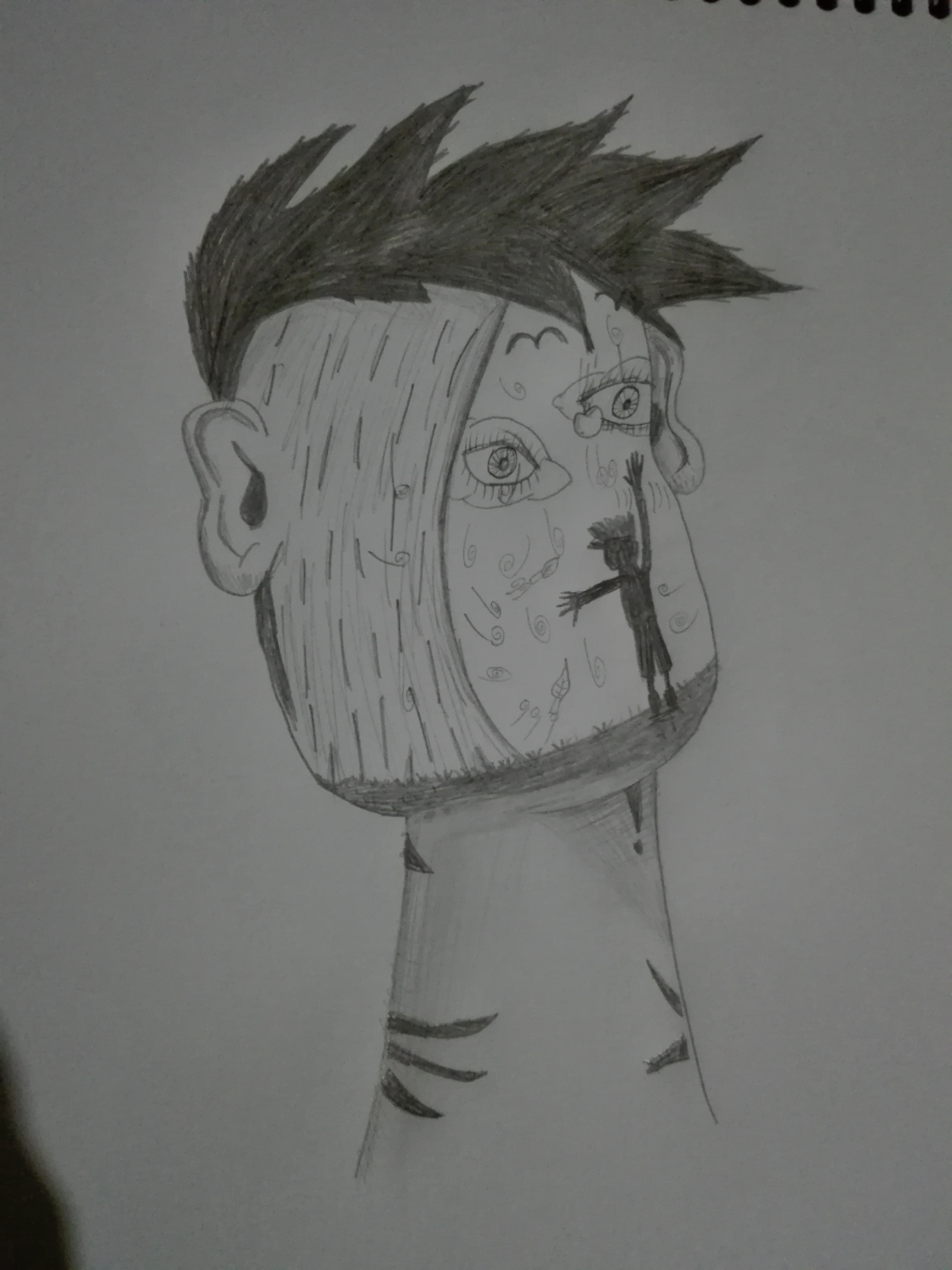 La cara inspirada