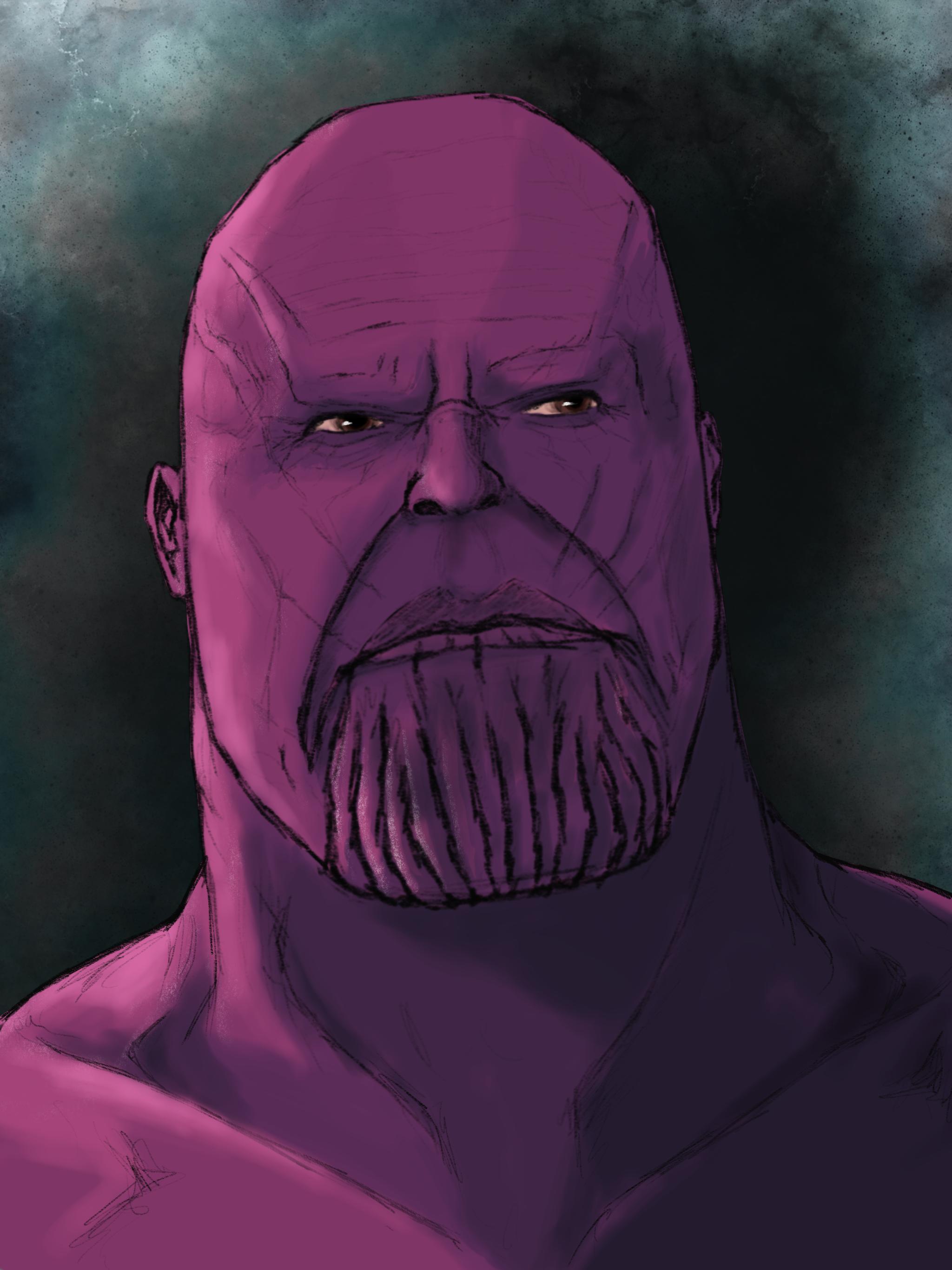 Thanos by TauDA on Newgrounds