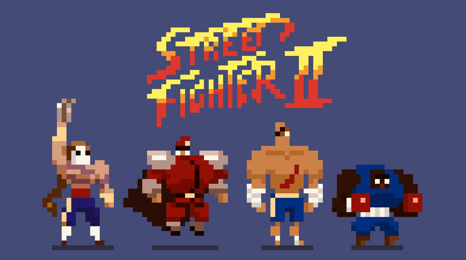 Streetfighter pixel boys