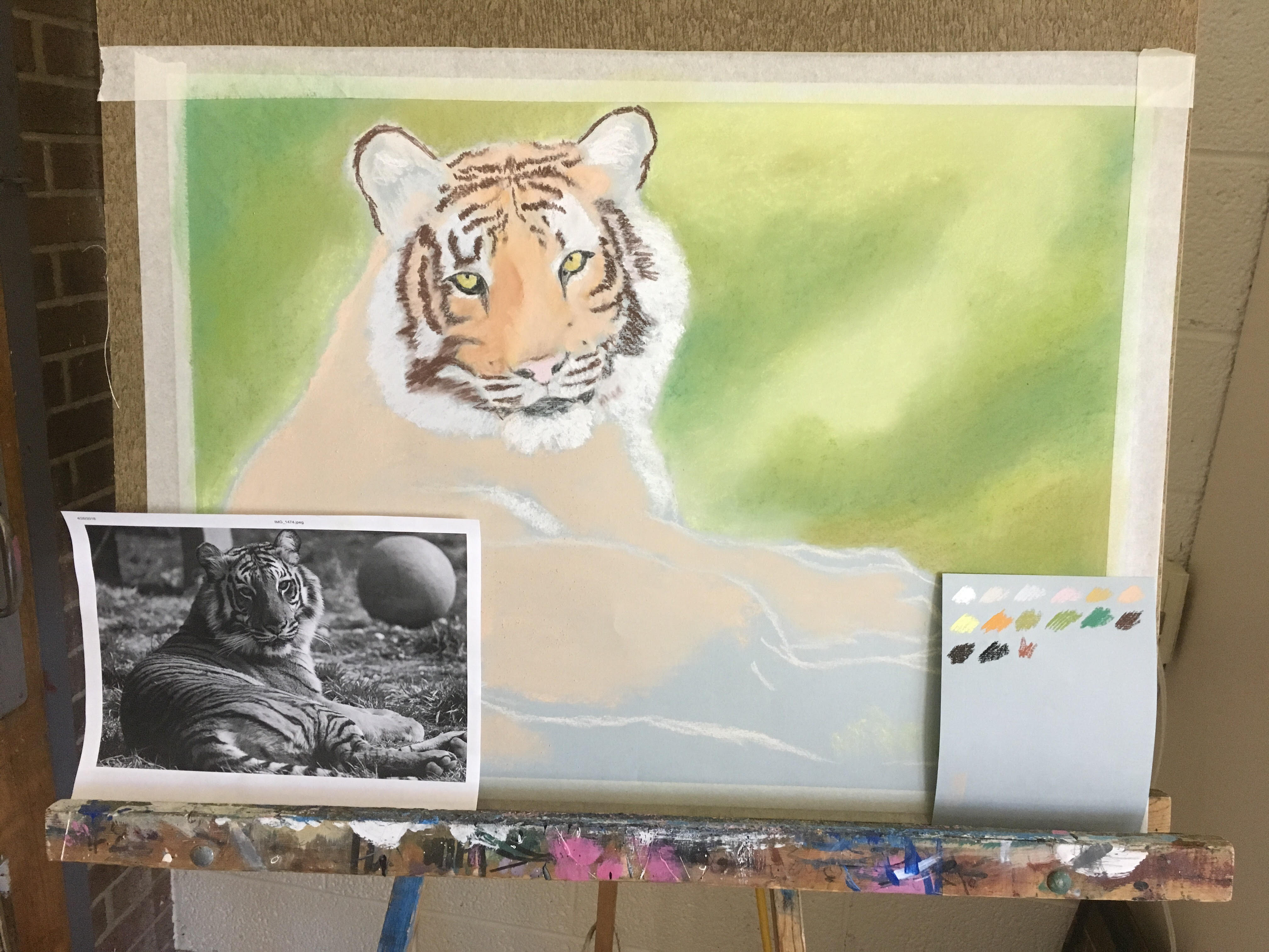 Millie the Tiger- WIP