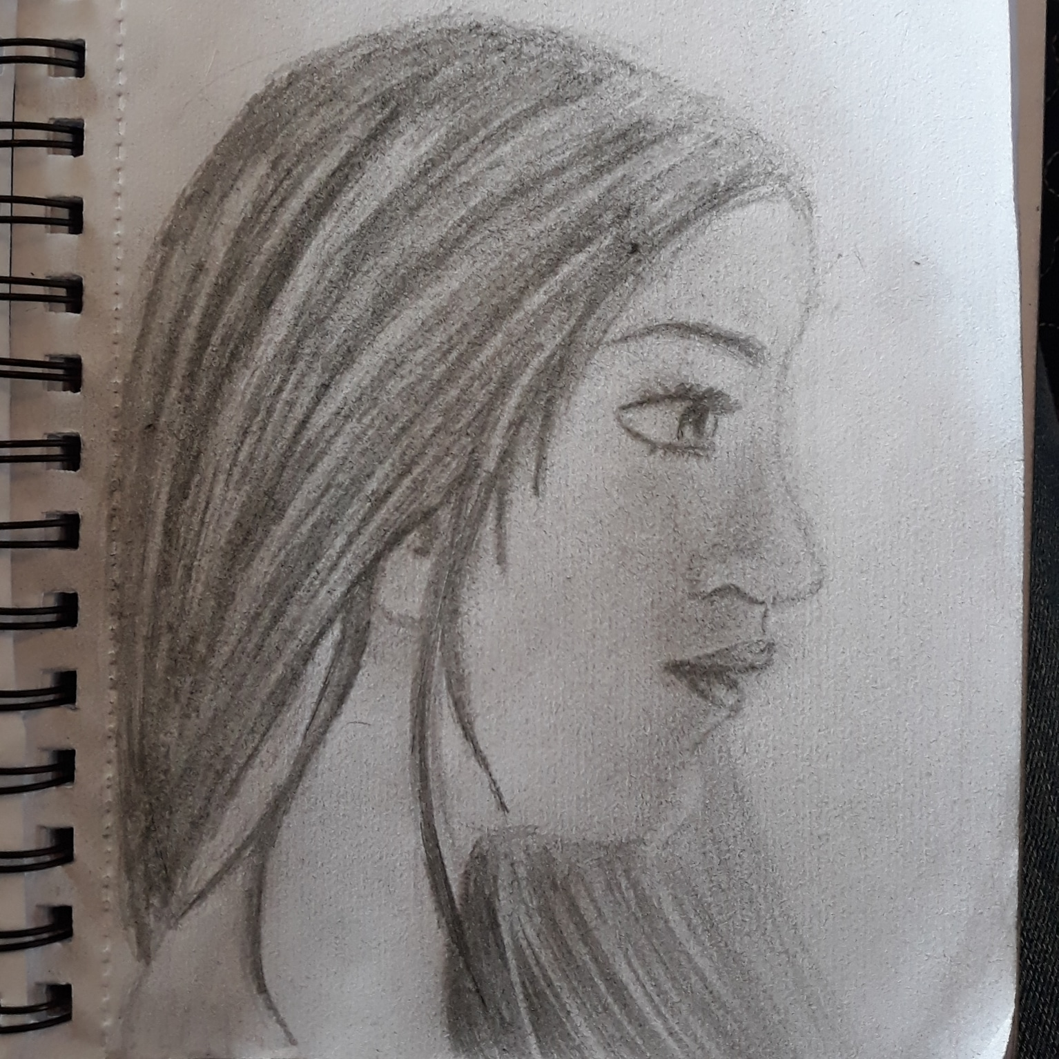 atempt 3 at trying to draw a semi realistic face by hramunro on