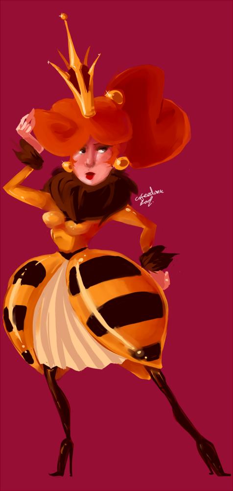 Bee Queen concept.
