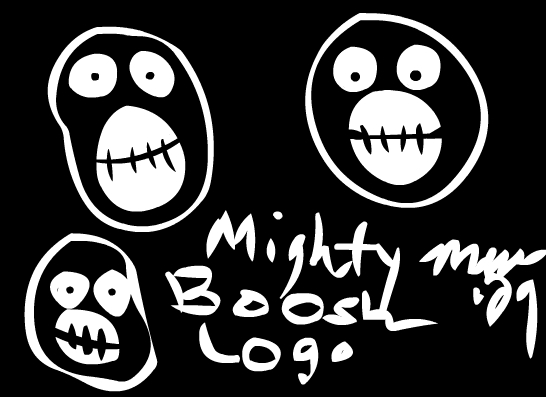 Mighty Boosh Logo - SID Style