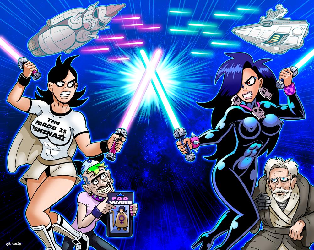 Super Social Justice Jedi Duel