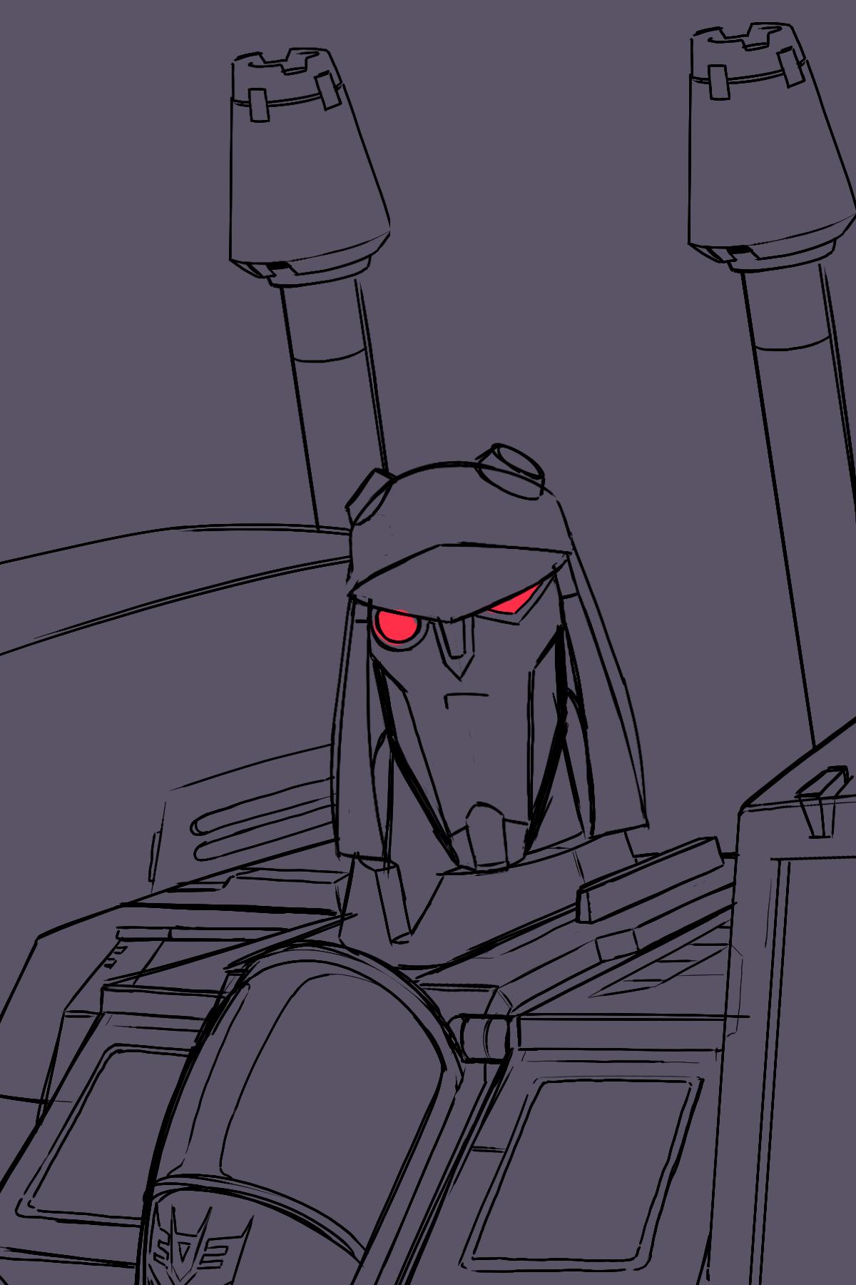 Blitzwing Sketch