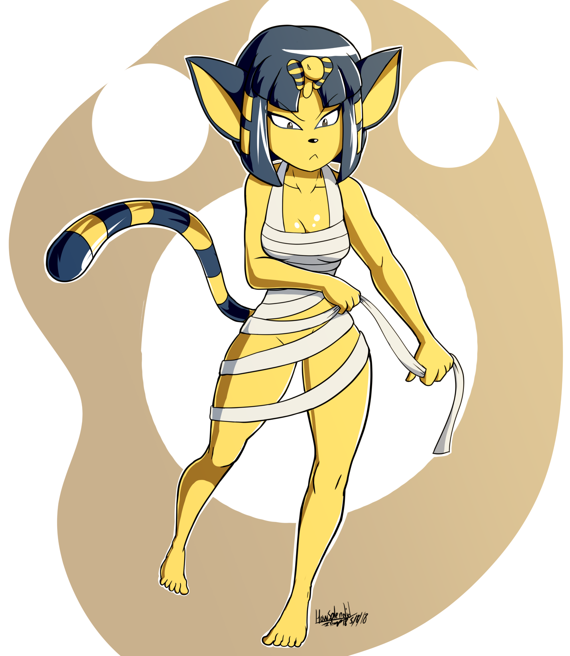 Animal Crossing Ankha again