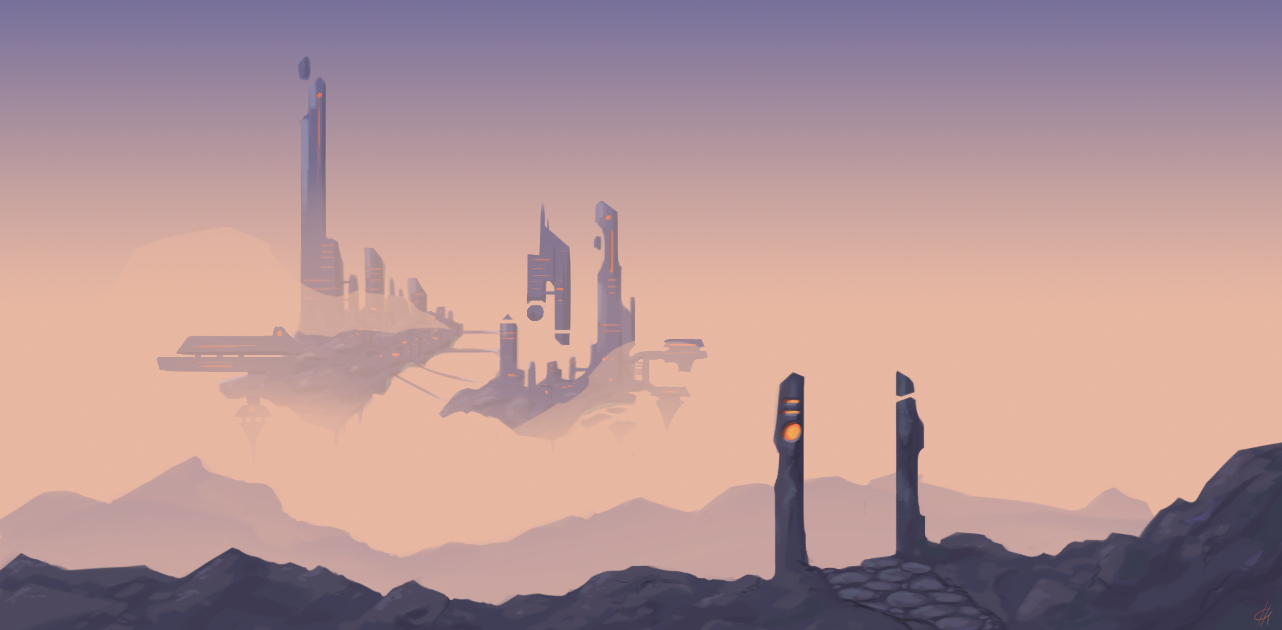 the floating city that doesn't fall ever