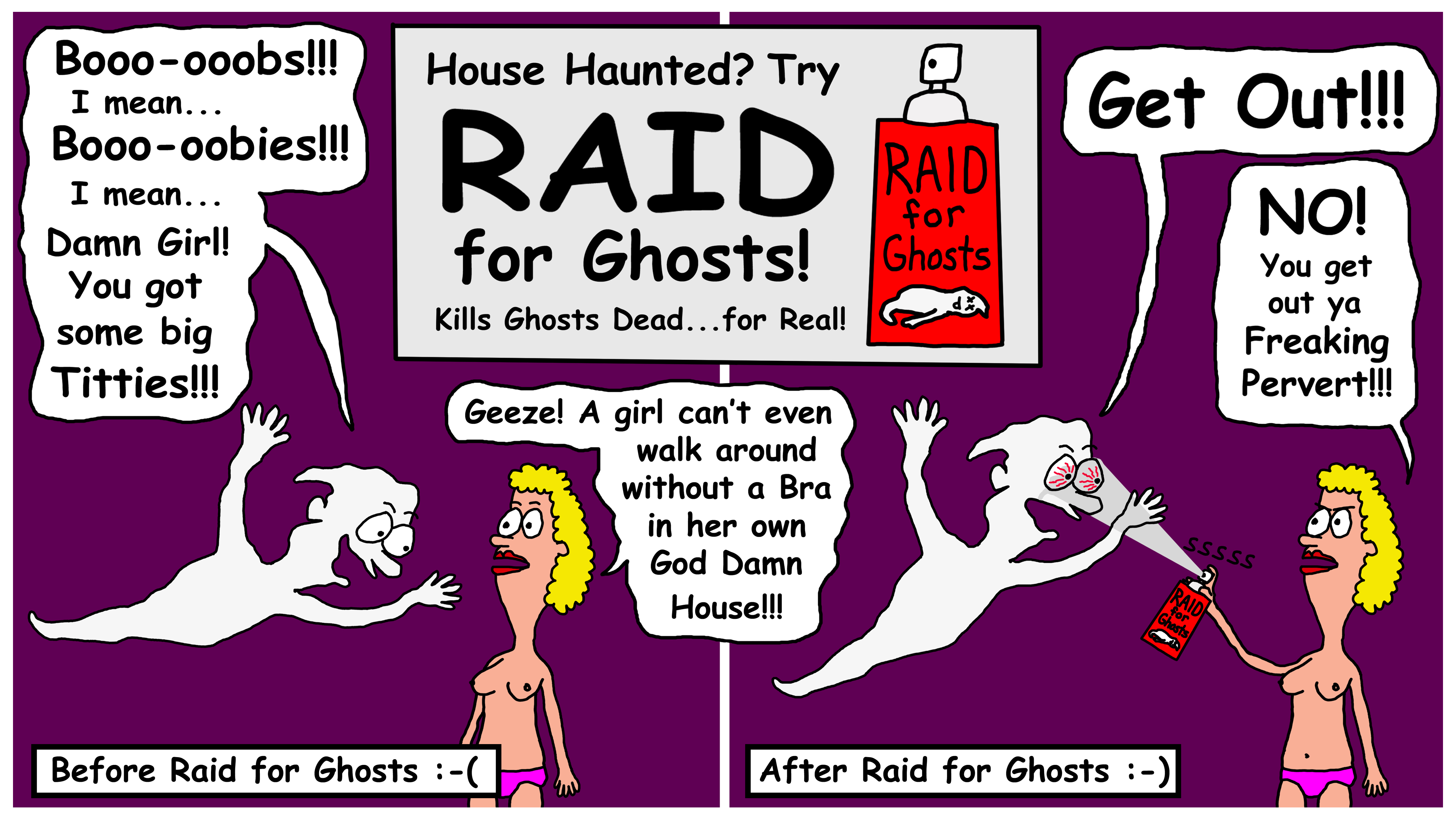Raid for Ghosts.