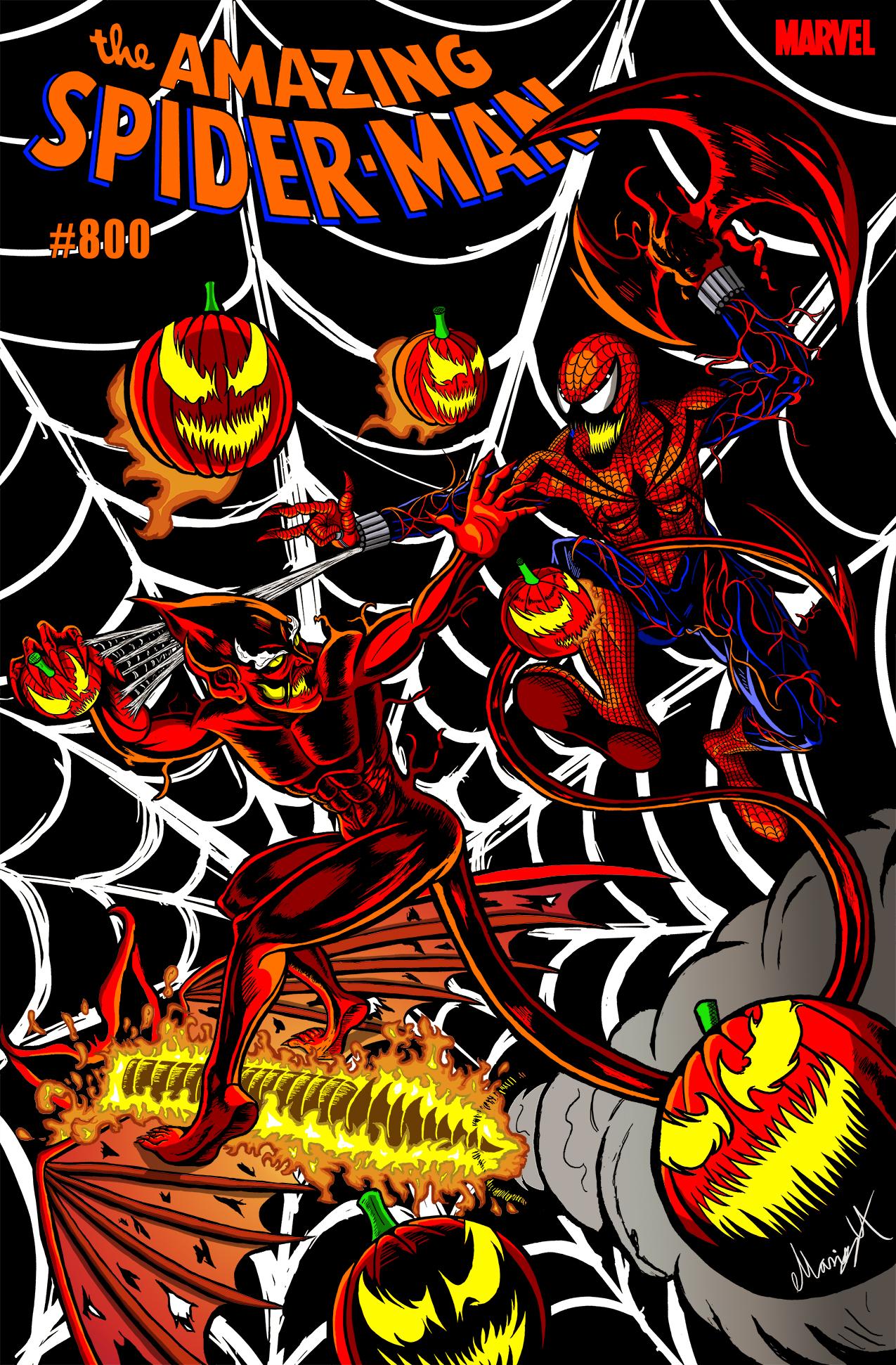 ASM #800: Red Goblin vs Spider-Carnage