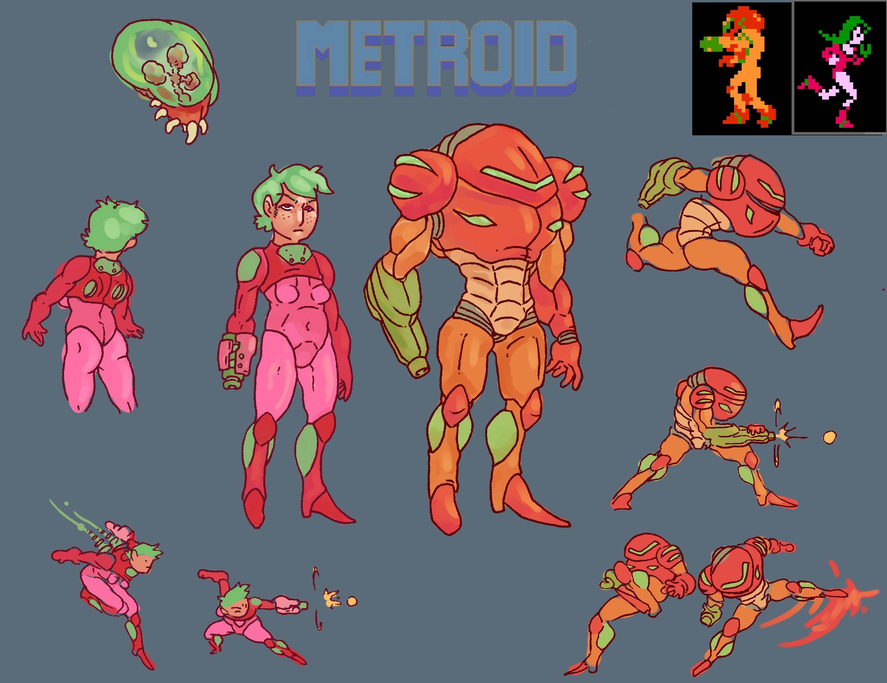 Metroid Redesign Sheet