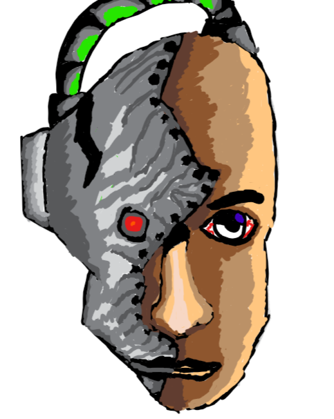 The Robot Face By Kid 13 Year Old By Karan Sharma On Newgrounds