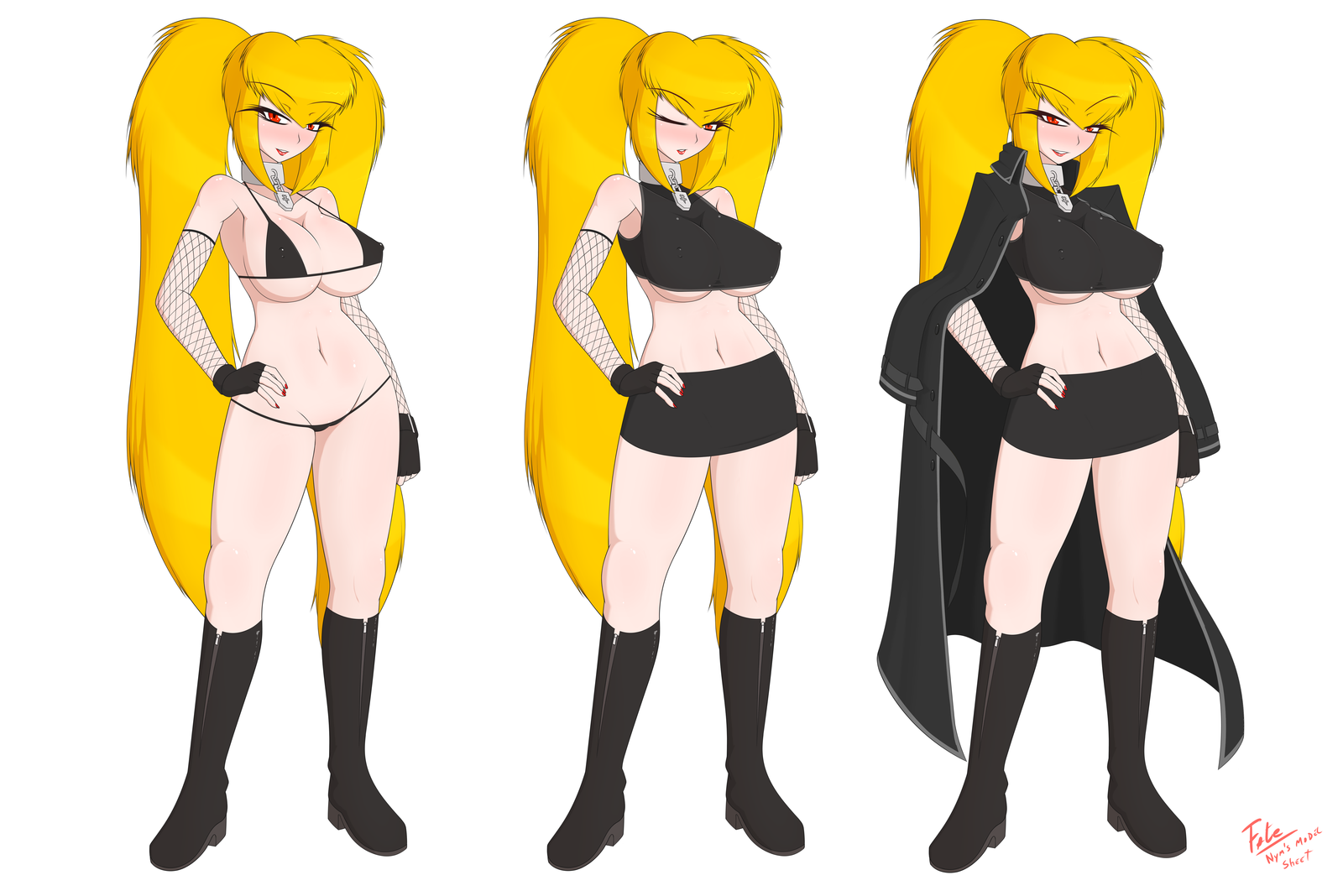 Nym's Model Sheet - Original Sin Project